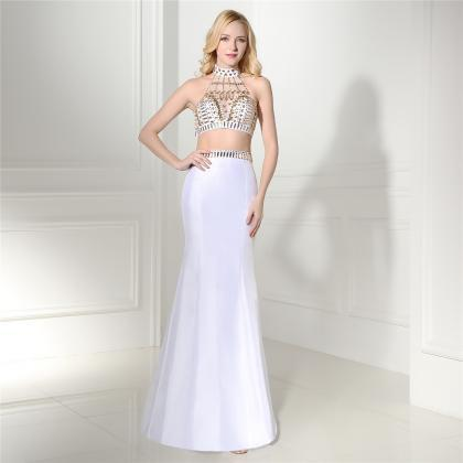 Modest Two Piece Prom Dresses,Prom ..