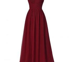 Cheap Burgundy Prom ..