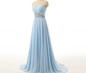 Sky Blue Bridesmaid ..