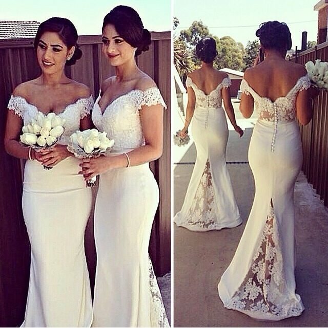 3ccfdefd19e White Bridesmaid Dresses