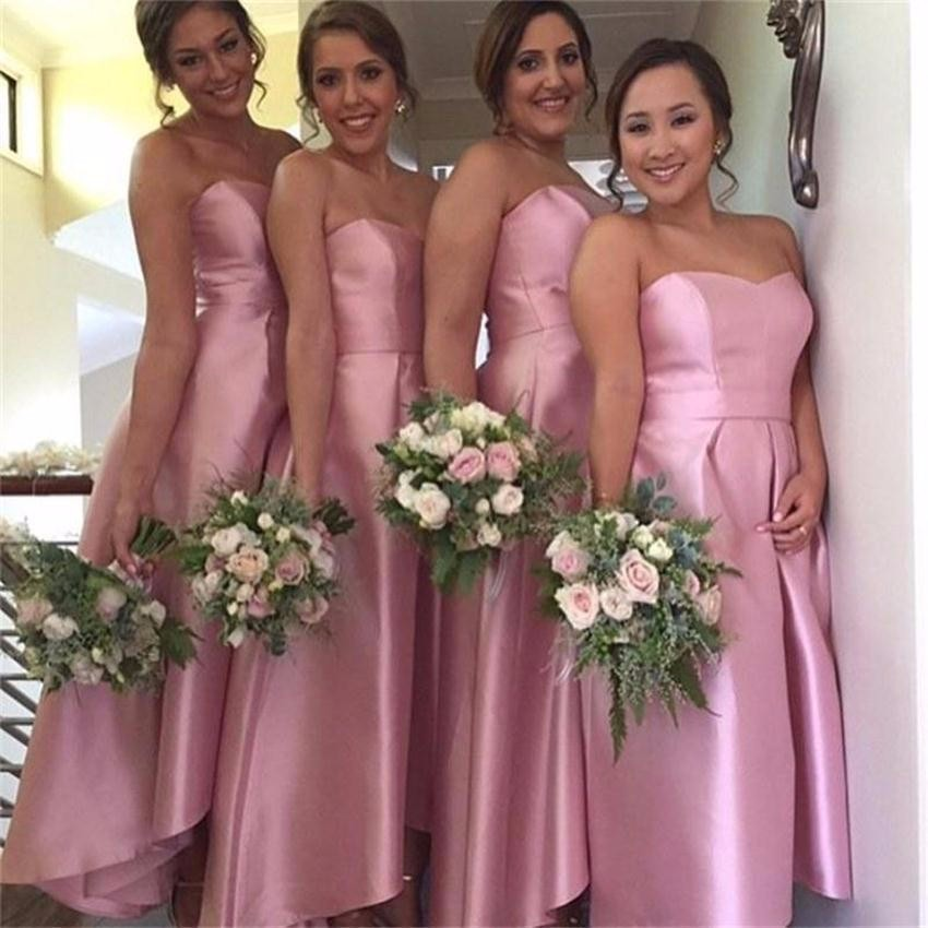 Pink Bridesmaid Dresses ad0fde616a46