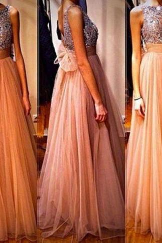 Sexy Beaded Prom Dresses For Women 2018 Formal Evening Gowns Imported Party Dress