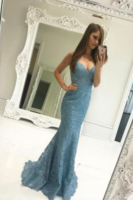 Sweetheart Lace Prom Dress,Mermaid Prom Dress,Evening Gowns,Formal Dress,Pageant Dress,Prom Dress 2019