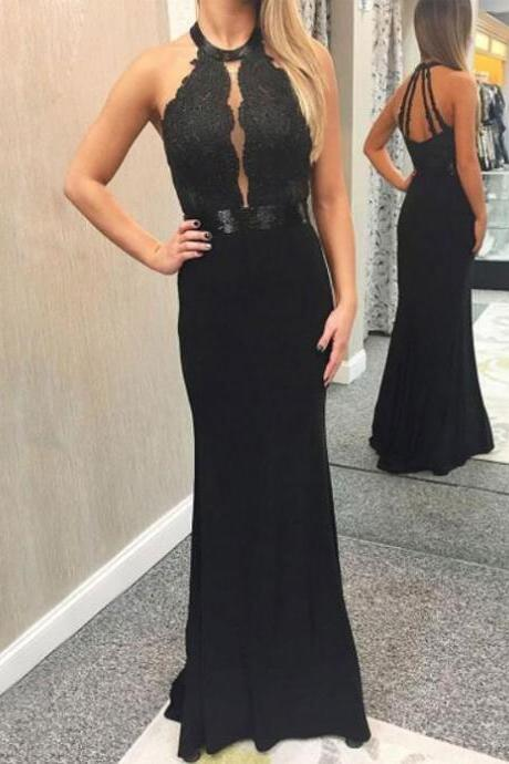 Black Mermaid Prom Dresses,Prom Dress 2019,Evening Gowns,Formal Dress,Special Occasion Dress,Party Dress